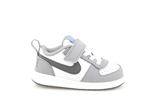 Borough Unisex pure Platinum 0 006 Nike Court 24 Grey anthracite Bimbi Multicolorecool LowtdvPantofole edWBoCxr