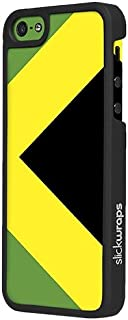 product image for Slickwraps Flag Series the Case for iPhone 5c - Jamaica - Carrying Case - Retail Packaging - Jamaica