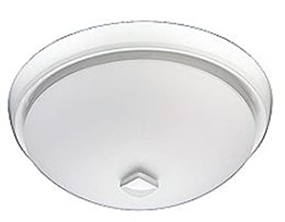 Broan 778WH Energy Star Qualified Decorative Ventilation Fan with Light, 80 CFM 2.0 Sones, White
