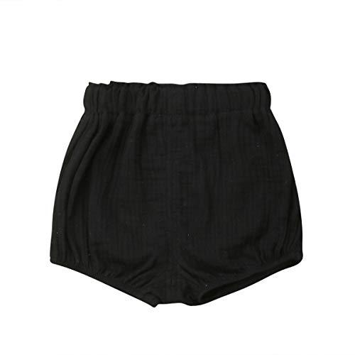Newborn Baby Girls Kids Boho Floral Bell Bottom Flare Leggings Trousers Pants (Black, 12-24 - Flare Kids