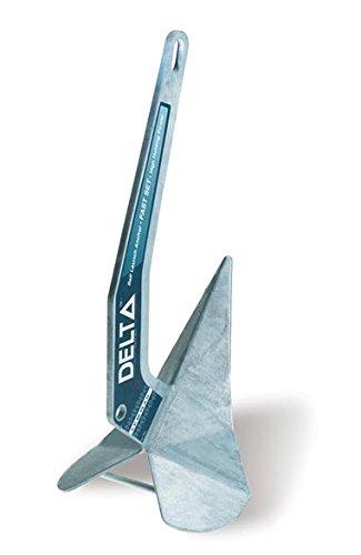 Lewmar Galvanised Delta Anchor, 16 kg/35 lb. by Lewmar