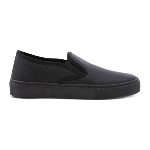 Lilley Womens Black Slip On Casual Shoe Black
