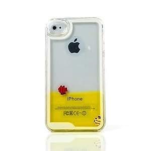 ZLXUSA (TM) Fish Hard Case for iPhone 5/5S Yellow
