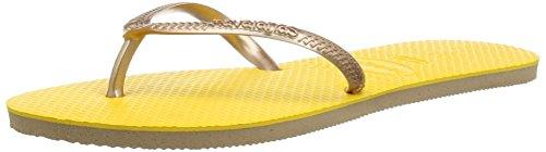 Havaianas Flat Up - Sandalias Para Mujer Amarillo 1652