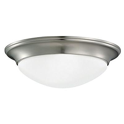 Sea Gull Lighting Nash 75435 2-Light Ceiling Flush Mount