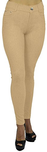 belle-donne-womens-jeggings-pull-on-look-alik-denim-jeans-stretchy-tight-camel-