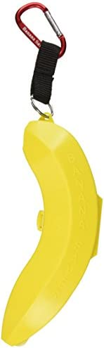 Banana Saver with Carabiner, Yellow, Small