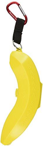 Banana Saver with Carabiner, Yellow