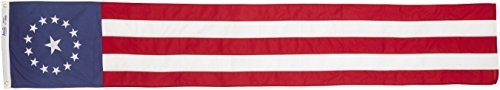 96 Vertical Door - Annin Flagmakers Colonial Style Pulldown Flag, 16 by 96-Inch
