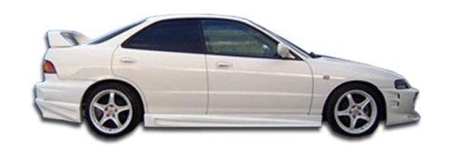 Acura Integra 4dr Side Skirts - 1994-2001 Acura Integra 4DR Duraflex Bomber Side Skirts Rocker Panels - 2 Piece