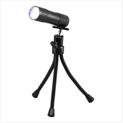 9 LED Stativ Taschenlampe –  twin pack Maxim