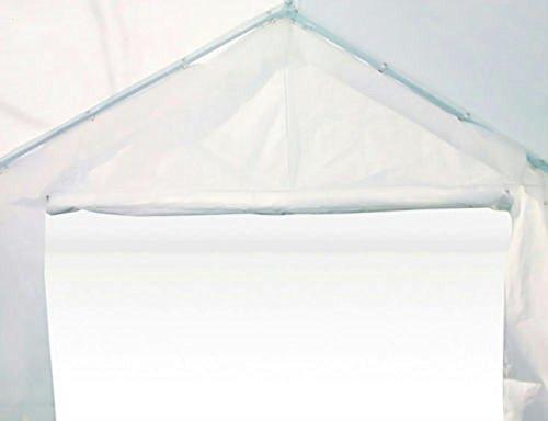 Heavyduty White Tarp Poly Tarpaulin Canopy Tent Shelter Car Multi Purpose by BONNILY (Image #2)