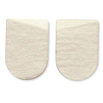 HAPAD Medial/Lateral Heel Pads, 3x4 inches, case of 12 pairs