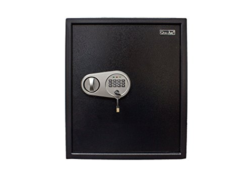 Qualarc NOCH-46EL Electronic Digital Home & Office Security Solid Steel Safe with Keypad Lock