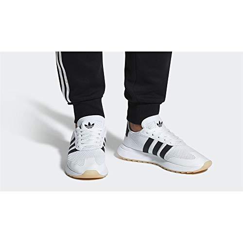 Flb Bianco Scarpe W Donna nero Da Adidas Ginnastica Basse 7TwqTdA