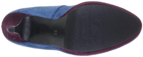 s.Oliver Selection 5-5-22423-39 - Zapatos clásicos de cuero para mujer Azul