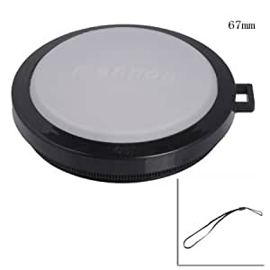 Quaroth Mennon 67mm White Balance Lens Cap DC DV with Filter Mount