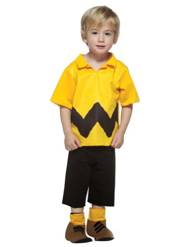 Halloween Costumes Item - Peanuts Charlie Brown Kit Toddler Costume 3-4T