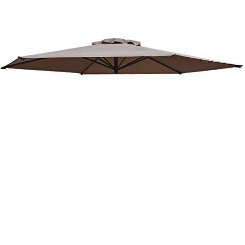 Umbrella Cover Canopy 8.2ft 6 Rib Patio Replacement Top O...