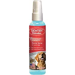 Petrodex Dental Spray for Dog and Cat, 4-Ounce