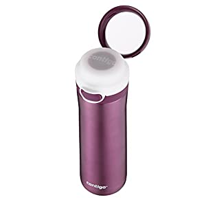 Contigo Glacier Stainless Water Bottle, 20-Ounce, Radiant Orchid