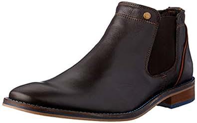 Wild Rhino Men's Bolton Boots, Dark Brown, 10 US