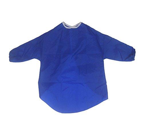 Kinder Malkittel, Kinder Bastelkittel, Craft Schürze, 2-4 Jahre, Blau,