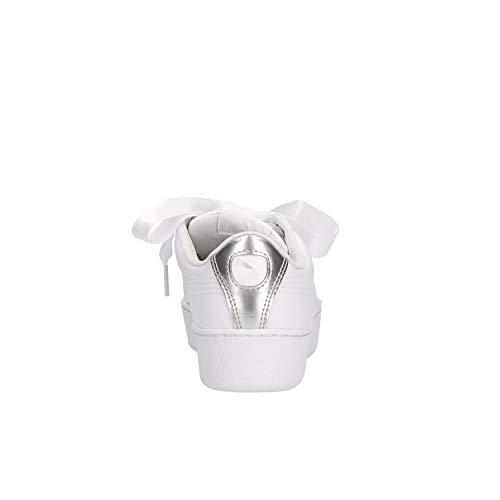 01 Femme Blanc Sneaker Puma 367816 tfxqU5