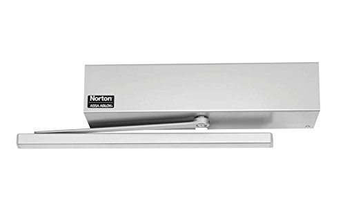 Norton Door Controls 5610 x 689 5600 Series Aluminum Powered Door Closer, 120 VAC Input, Aluminum Finish (5600 Wall Series)