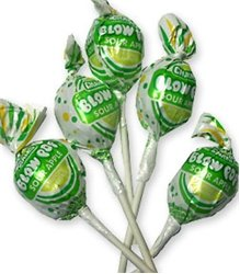 (Charms Blow Pop Sour Apple 48CT)