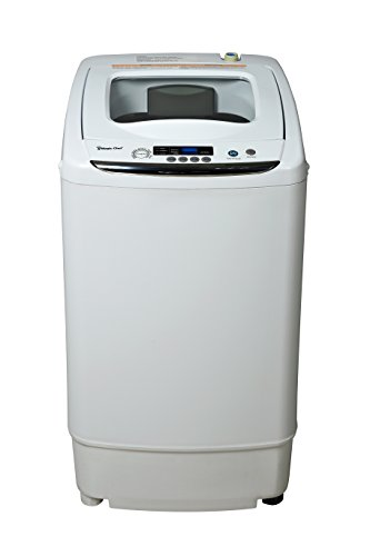 Magic Chef MCSTCW09W1 0.9 cu. ft. Compact Washer, White (Machine Apartment Washing)