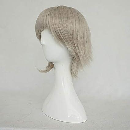 Especiales de liquidación] cosplay anime Stray Dogs Nakajima Atsushi peluca blanca corta cosplay: Amazon.es: Belleza