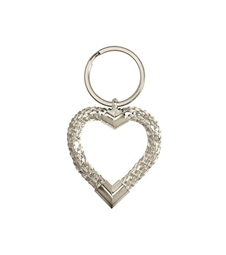 whiting-davis-classic-heart-key-ring-keychain