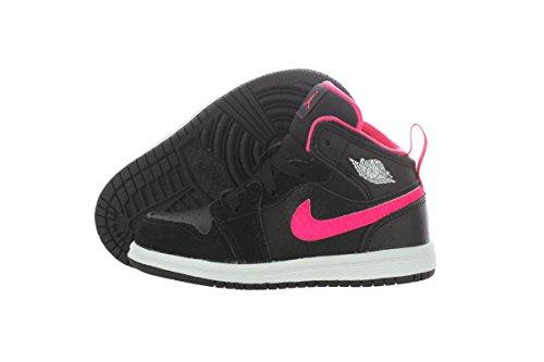 size 40 23882 133ee Nike Jordan Toddlers Jordan 1 Mid GT Black Hyper Pink White Basketball Shoe  6 Infants US - Buy Online in Oman.   Apparel Products in Oman - See Prices,  ...