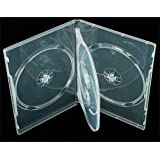 Elixir 2 X Clear 4 Way DVD/CD Cases