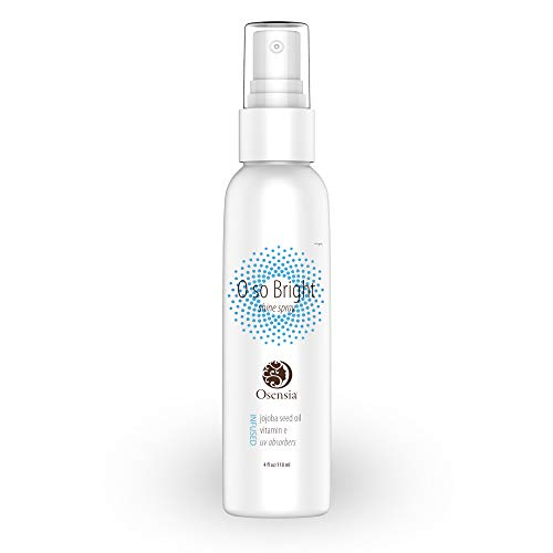 Shine Spray and UV Protectant - Hair Polish and Growth Stimulator - Jojoba Oil, White Birch Extract, Vitamin E Humidity Resistant Glossy Finishing Spray for Dry, Damaged, Color Treated Hair by Osensia ()