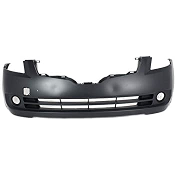 w// Fog Light Holes Primed For Maxima 02-03 FRONT BUMPER COVER