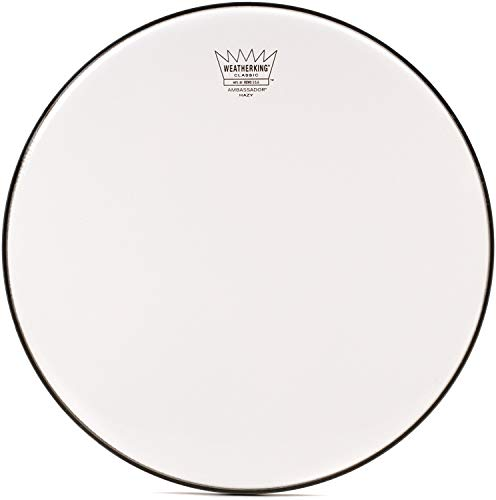 Remo Coated Ambassador Hazy Classic Fit Snare Side Drumhead, 14
