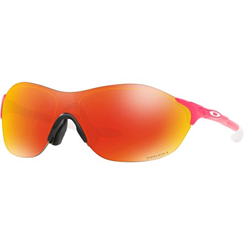 Oakley Men's Evzero Swift (a) Non-Polarized Iridium Rectangular Sunglasses, Neon Pink, 38 - Pink Womens Sunglasses Oakley