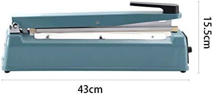 SMEJS Sac Impulse Sealer Bag Poly étanchéité machine thermoscellage Closer machine d'étanchéité pression à la main