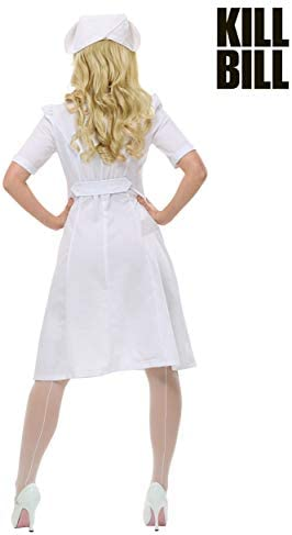 Kill Bill Elle Driver Nurse Womens Fancy dress costume X-Small ...