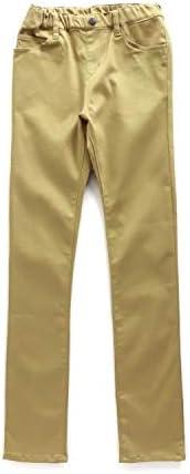 カラー スキニー パンツ Jrサイズ 10分丈 子供服 キッズ R121040