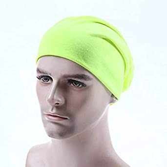 Alger 15 Fluorescent Yellow Men s Hats Hooded Hooded Hip Hats Hooded Hat 15  Flu  Amazon.in  Clothing   Accessories c8ac15cec7d