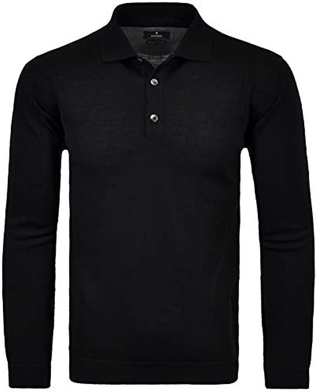 Ragman męska bluza polo z wełny merynosÓw: Odzież