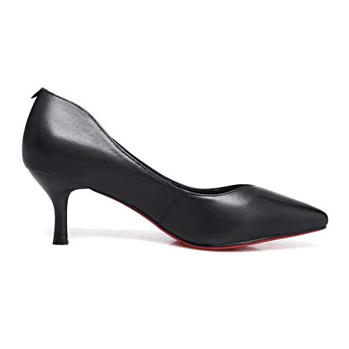 APL11201 Womens Urethane Light Black Solid Pumps Weight BalaMasa Charms Shoes FOqpSww