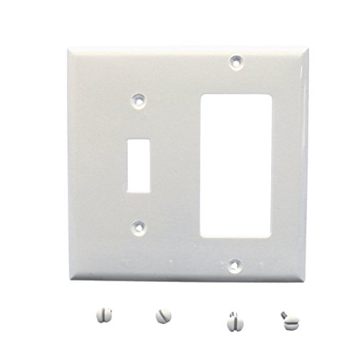 (Cooper Wiring Devices Double Gang Wall Plate 5153W-BOX)