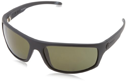 Electric Visual Tech One Matte Black Polarized - Polarized Electric Sunglasses