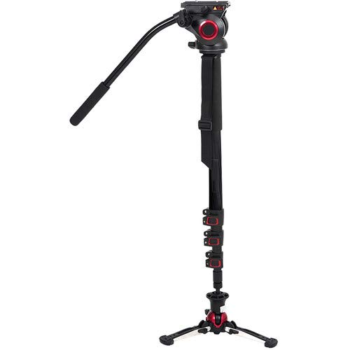 TP705BS Carbon Fiber Monopod with Pivoting and Lockable Foot Stand 705BS [並行輸入品]   B07R77W9LG