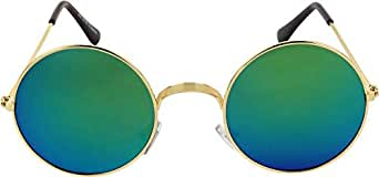 Classic Round Sunglass For Unisex (Green)