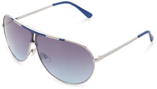 Rocawear R1245 SLVBL Aviator Sunglasses - Silver & Blue -...